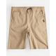 NITROUS BLACK Jogger Boys Shorts