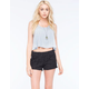 BOOM BOOM JEANS Diamond Crochet Womens Shorts