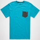 VOLCOM Springish Twist Mens Pocket Tee