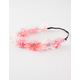 FULL TILT Multicolor Chiffon Flower Headband