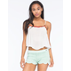 PATRONS OF PEACE Cropped Womens Cami
