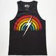 LIGHTNING BOLT Rainbow Mens Tank