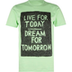 GLAMOUR KILLS Live For Today Mens T-Shirt