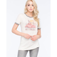 CORNER SHOP Nevada Coyote Ringer Womens Tee