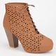 BAMBOO Huxley Womens Booties