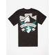 KEY STREET Mountains Mens T-Shirt