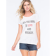 RETRO DOLL Love & Whiskey Womens Tee