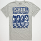 TRUNK LTD. Led Zeppelin North American Tour Mens T-Shirt