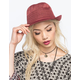 Collapsible Womens Fedora
