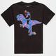 RIOT SOCIETY Cosmic Panda T-Rex Boys T-Shirt