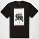 KR3W Black Flag Mens T-Shirt