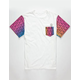 VOLCOM CMYK Native Mens Pocket Tee