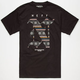 NEFF Skull Isle Mens T-Shirt