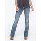 ZCO Flap Pocket Womens Bootcut Jeans