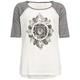 FULL TILT Mandala Girls Raglan Tee