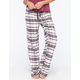 COSMIC LOVE Plaid Womens Flannel Pants