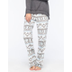 COSMIC LOVE Fair Isle Polar Womens Fleece Pants