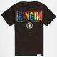 LAST KINGS Tie Dye Mens T-Shirt