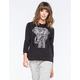 FULL TILT Elephant Womens Pullover Hoodie