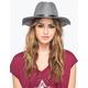 Banded Felt Womens Panama Hat