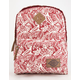 DICKIES Floral Canvas Backpack
