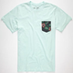 RIP CURL Elmwood Custom Mens Pocket Tee