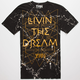 YRN Marble Living Dream Mens T-Shirt
