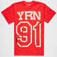 YRN Offset Mens T-Shirt