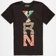 YRN Leopard Paisley Logo Mens T-Shirt