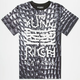 YRN Patent Leather Snakeskin Mens T-Shirt