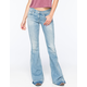 A GOLD E Madison Womens Flare Jeans