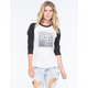 YOUNG & RECKLESS Rope L.A. City Womens Baseball Tee