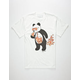 RIOT SOCIETY Panda Pizza Bubble Mens T-Shirt