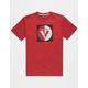 VOLCOM Public Stone Boys T-Shirt
