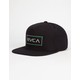 RVCA Rectangle Mens Snapback Hat