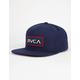 RVCA Rectangle Mens Snapback Hat