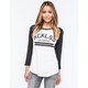 YOUNG & RECKLESS Non Rookie Womens Raglan Tee