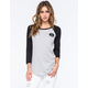 YOUNG & RECKLESS Circle Vars Womens Raglan Tee