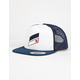 HURLEY Icon Slash USA Mens Trucker Hat