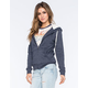 FULL TILT Heather Sherpa Womens Hoodie