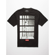 ASPHALT American Bars Mens T-Shirt