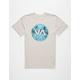 RVCA VA Circle Deadman's Bay Mens T-Shirt