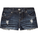 ALMOST FAMOUS High Rise Womens Denim Shorts