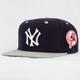 AMERICAN NEEDLE Blockhead Yankee Mens Snapback Hat