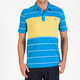 VOLCOM Blackout Stripe Mens Polo Shirt