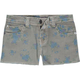 VIGOSS Girls Printed Denim Shorts