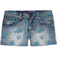 VIGOSS Girls Printed Denim Shorts