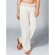 ELAN Womens Gauze Pants