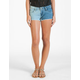VOLCOM High Voltage Womens Denim Shorts