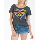 VOLCOM Right Side Up Womens Tee